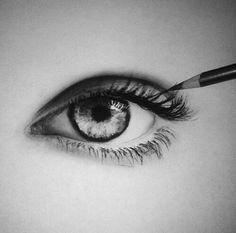 Eyes.... I love to draw eyes