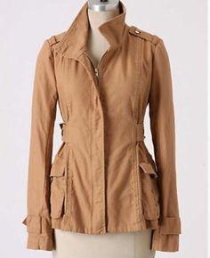 $198 Anthropologie Sunner anorak jacket size s
