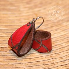 Leather Loop Earrings Inspiration