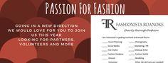 Time to Kick Off Fashionista Roanoke 2017