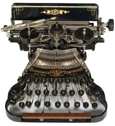 Commercial Visible typewriter - 1898 | Collectors Weekly