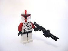 Lego Custom CLONE CAPTAIN Phase 1 MINIFIGURE Custom Helmet +