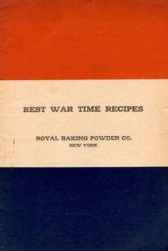 """Best War Time Recipes"" by the Royal Baking Company, New York, copyright 1918 Potato Doughnut receipt Retro Recipes, Old Recipes, Cookbook Recipes, Cooking Recipes, Cooking Games, Cooking Classes, War Recipe, Rainy Day Recipes, Wartime Recipes"