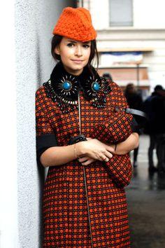 The 50 most stylish young women in the world: Miroslava Duma