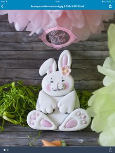 #easter OSTERN Bunny cookies i made