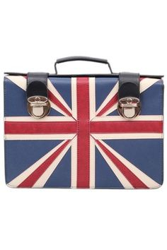 Union Jack school bag
