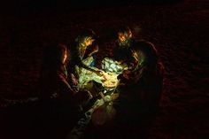Pizza on the beach. At night in Qantab, the women of the village gather on the beach, eating and drinking tea while enjoying the salty breeze. Photo by Huda Abdulmughni Arab World, Drinking Tea, Middle East, Breeze, Pizza, Night, Beach, Women, The Beach