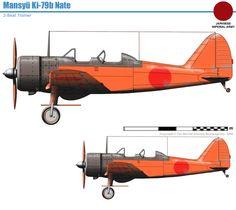Manshu Ki-27/79b Nate Navy Aircraft, Aircraft Photos, Ww2 Aircraft, Fighter Aircraft, Military Aircraft, Fighter Jets, In The Air Tonight, Germany Ww2, Ww2 Planes