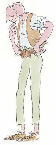 Quentin Blake : Teachers & Parents : Young Illustrators