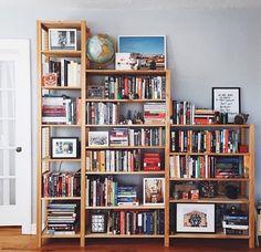 Love a well stocked book shelf
