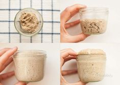 Na ceste za kváskovým chlebom - Ako získať kvások Sourdough Recipes, Bread Recipes, Peanut Butter, Oatmeal, Bakery, Food And Drink, Healthy, Breakfast