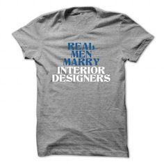 Cool Real meN marry interior designer Shirts & Tees