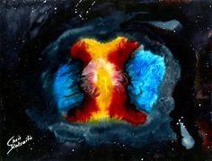 Original Mixed Media Painting Abstract Painting by AbstractModels, €2500.00