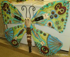 Lucy Designs: Recycled Butterfly