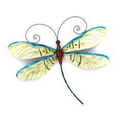 Dragonflies Artwork | Dragonfly Capiz Wall Art