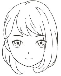 Girl Drawing Sketches, Girl Sketch, Cute Couple Drawings, Easy Drawings, Chibi, Anime Sketch, Galaxy Wallpaper, Graffiti Art, Face Drawing Tutorials