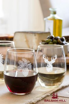 Give sparkle and cheer to every toast with Balsam Hill's hand-engraved Stemless Etched Wine Glasses.  Let your mom savor this gift with every sip of her favorite vintage. #MothersDay