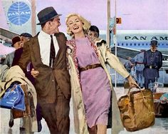 Happy Arrival - Pan Am 1959