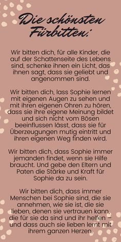 Sprüche zur taufe Wedding Favor How To's. Wedding favors are a way of spreading joy and showing yo Bubble Bread, Baby Needs, New Parents, Kids And Parenting, Christening, Religion, About Me Blog, Lettering, Kigo