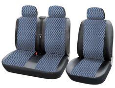 Volkswagen Crafter BUS 1+2 Front Grau Universal Autositzbezüge Wohnmobil Bezüge