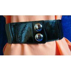Damengrtel, Stretchgrtel, schwarz, 70 cm - zimmer-media-office Onlineshop