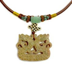 Auspicious Dragon Carved Jade Pendant Talisman Necklace - Fortune Feng Shui Imperial Jade Collection Fortune Jewelry & Healing Beauty,http://www.amazon.com/dp/B00BXO7QP4/ref=cm_sw_r_pi_dp_RJbutb1YMZM0T03J