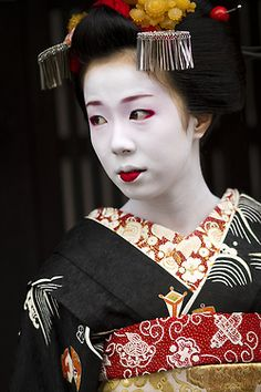 Satohinas debut as maiko by ONIHIDE on Flickr