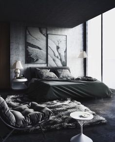 Comfort Bedroom My Living Interior Design Bedroom Quartos throughout proportions 1000 X 1500 Black Bedroom Design - This may be the second and concluding Luxury Bedroom Design, Master Bedroom Design, Home Decor Bedroom, Bedroom Apartment, Bedroom Designs, Bedroom Furniture, Apartment Design, Men Apartment, Bedroom Wall