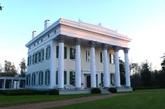"""Millford Plantation, located west of Pinewood SC, was built in 1839 for John L. Manning, governor of SC from 1852 to 1854. It's been called South Carolina's """"finest residential example of Greek Revival style."""""""