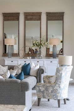Modern French Country Home Tour Modern French Country, French Country Furniture, French Country Bedrooms, French Country Living Room, French Country Decorating, Country Kitchen, French Cottage, Cozy Cottage, Farmhouse Furniture