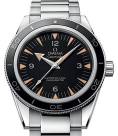 OMEGA Watches: Baselworld 2014. The New Seamaster 300 Co-Axial. I must have one!