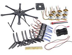 (109.38$)  Watch here - http://aikt2.worlditems.win/all/product.php?id=32776750064 - JMT 6-axle Folding Aircraft RTF Kit : HMF S550 Aircraft Frame + 1000kv Motor + 30A ESC + GSW 9050 Propeller