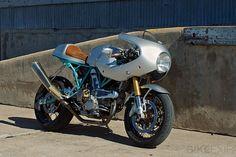 Ducati Paul Smart personalizada. Mais em: http://garagemcaferacer.blogspot.com.br/2013/01/ducati-paul-smart-personalizada.html