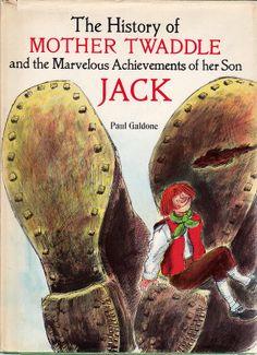 vintage kids nursery rhyme fairy tale book by OnceUponABookshop, $12.00