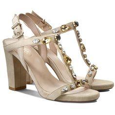 Sandały LIU JO - Sandalo Nicole Tc 90 S15049 P0021  White Pepper 51307