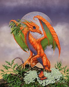 Carrot Dragon by Stanley Morrison