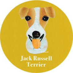 マイ @Behance プロジェクトを見る : 「028 | Jack Russell Terrier」 https://www.behance.net/gallery/42193517/028-Jack-Russell-Terrier