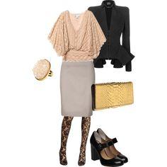 Office girly Glam