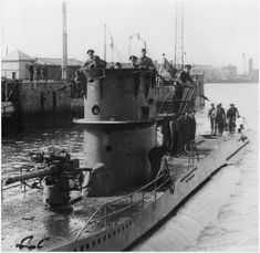 U-71 arriving at St Nazaire in 1941.