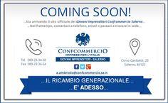 Presto on-line il sito ufficiale dei Giovani Imprenditori Confcommercio Salerno www.ggisalerno.it