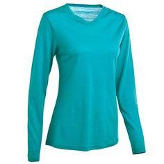 Montagne_Habillement Kleding - T-shirt LM Techwool 50 Light D QUECHUA - Bovenstukken
