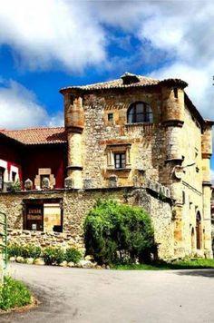 Rivera de Montijo en #Burgos Posada torre palacio de los Alvarado. (palacioalvarado.com)