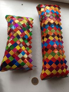 solids also work well - completely recycled 50 TL, 17 euro - baguette, 65 tl, 23 euro Cookie Packaging, Chip Bags, Icecream Bar, Baguette, Euro, Recycling, Throw Pillows, How To Make, Toss Pillows