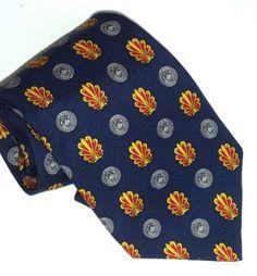 Luxury Jonchere Paris Necktie Pure Silk Rich by MushkaVintage3