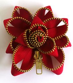 Zipper  #fashion #flower