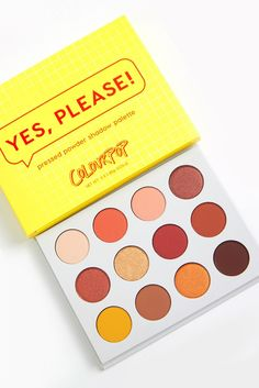 CoulourPop Yes, Please! Pressed Powder Shadow Palette