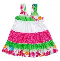 Infant Girls' Tiered Floral Dress