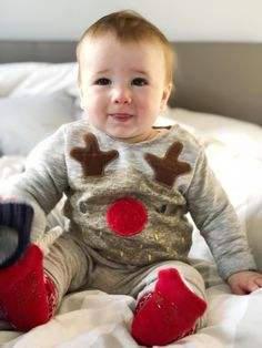 What Archie Wore: Christmas Jumper