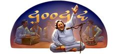Google pays tribute to the erstwhile singer and the king of Qawwali music, Nusrat Fateh Ali Khan.  Known as the man with voice from Heaven and as a reincarnation of the Laughing Buddha, Nusrat Fateh Ali Khan is one of the most respected legends in the world music sphere.  Here's a collection of songs from his albums for all of you to enjoy.  https://www.youtube.com/watch?v=Ag_PwwP4jpE #Music #MadrasMaalai #NusratFatehAliKhan