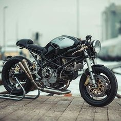 "SAINT MOTORS Co.™ ♠♣ 19⚡13 (@saint_motors) no Instagram: "" by @nctmotorcycles #ducati #bike #caferacer #custom #motorcycle #instamoto #stocksucks…"""